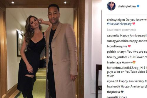 Chrissy Teigen silences rumours her marriage is on the rocks