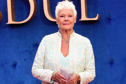 Judi Dench had glorious time on The Orient Express