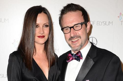 David Arquette and his wife Christina