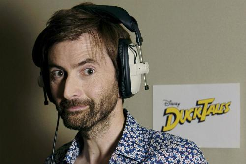 David Tennant to voice Scrooge McDuck - again