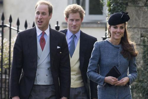 Prince William, Prince Harry, Duchess Catherine