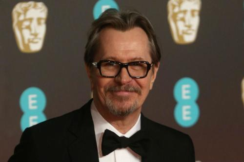 Gary Oldman pays tribute to ex-wife after BAFTA win