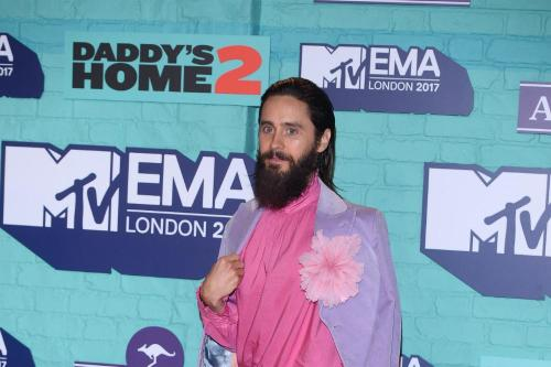 Jared Leto mistaken for Jay Leno at MTV EMAs