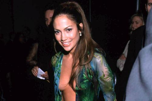 a67658fc Jennifer Lopez's Versace gown is being recreated as sneakers