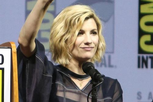 Jodie Whittaker at Comic-Con