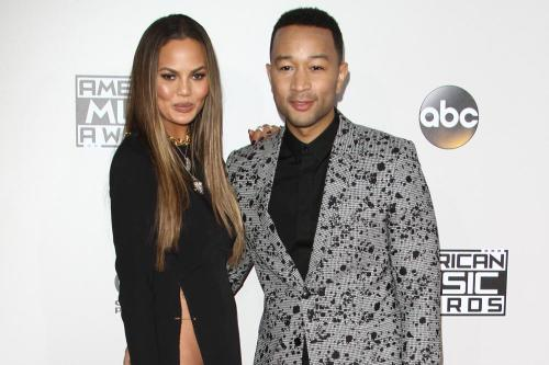 Chrissy Teigen's dog has a tumour on his heart