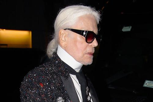 Karl Lagerfield has died aged 85