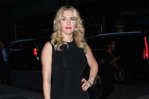 Kate Winslet celebrated awards success by kissing a woman