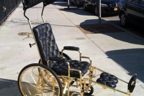 Lady Gaga Gold Wheelchair - Lady Gaga Age