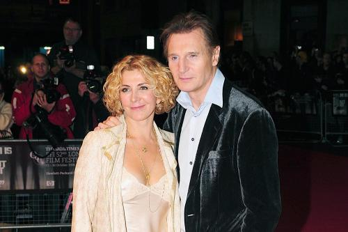 Liam neeson refused james bond role for marriage for Natasha richardson liam neeson wedding