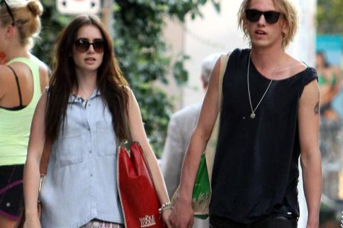 Jamie campbell bower and zina