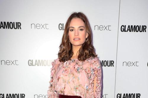 Lily James had her passport stolen in France