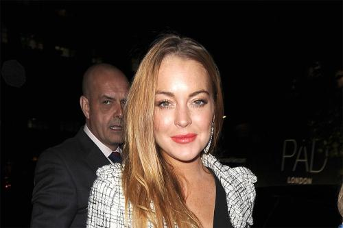 Lindsay Lohan is serious about her new beau