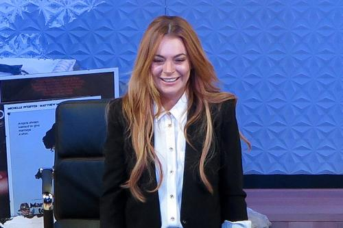 Lindsay Lohan Upset On Jonathan Ross Chat Show