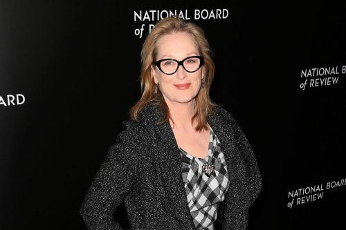 Meryl Streep says she's the 'bad cop' parent