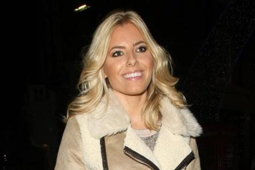 Mollie King S Shearling Coat Steal Her Style