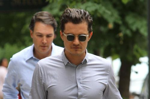 orlando bloom naked video in new film zulu   Daily Star