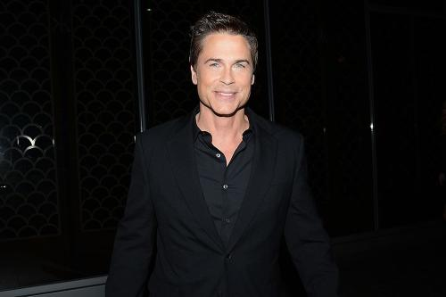 Rob Lowe feels 'lucky' to have got through partying days