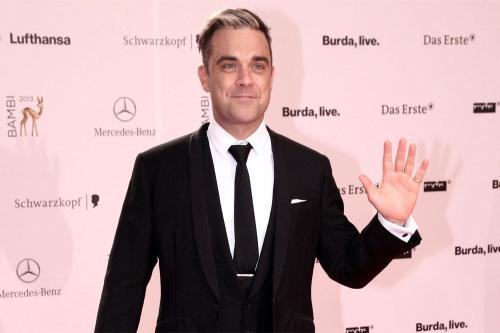 Robbie Williams names son Charlton Valentine
