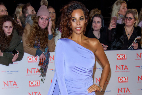 Rochelle Humes' daughters love to help