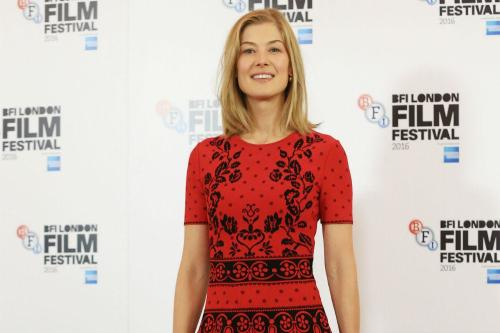 The BFI London Film Festival kicks-off with Rosamund Pike