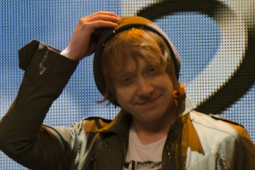 Rupert Grint finds it hard to meet up with Harry Potter pals