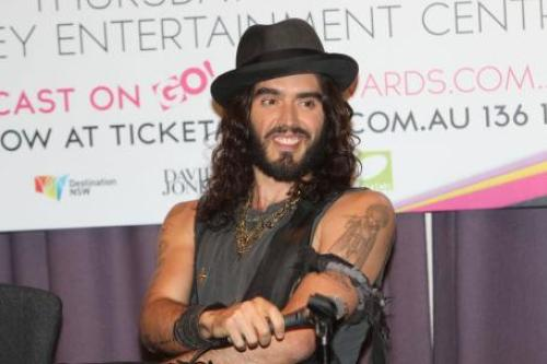 Russell Brand Admits Crush on Samantha Barks