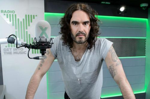 Russell Brand set to make his return to live radio