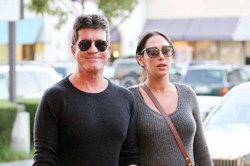Simon Cowell will be in the delivery room for the birth