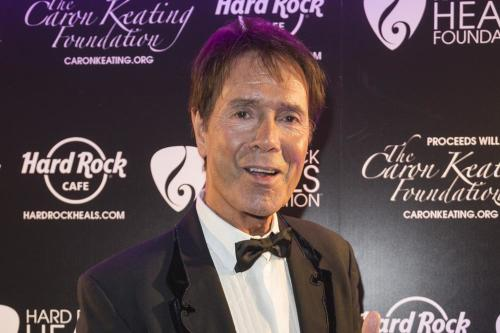 Sir Cliff Richard at Pinktober Gala