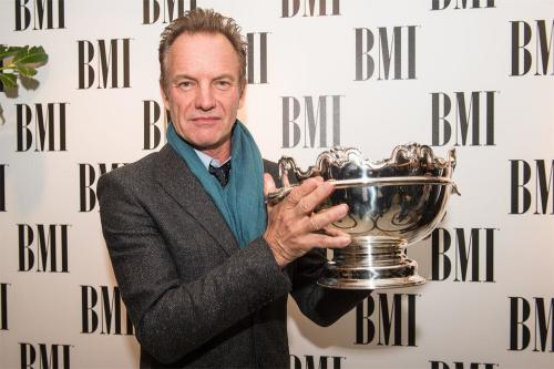 Sting at the 2016 BMI London Awards