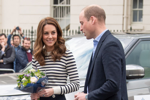 Prince William and Duchess Catherine pay tribute to the GB team