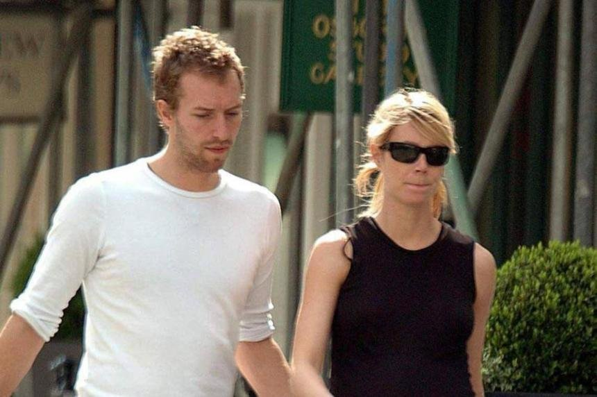 Celebrity Wedding Anniversary: Chris Martin and Gwyneth Paltrow 5/12/2003