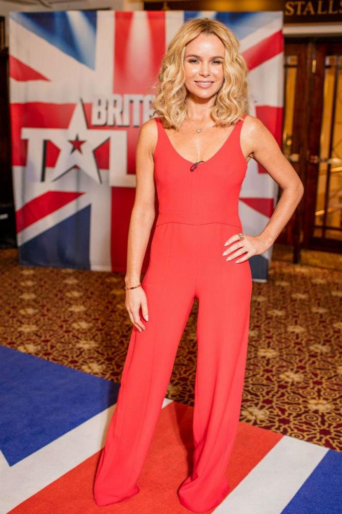 Amanda Holden returns to Britain's Got Talent