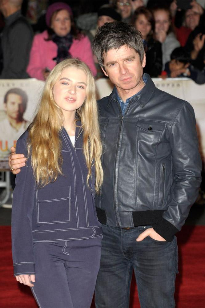 Anaïs and Noel Gallagher