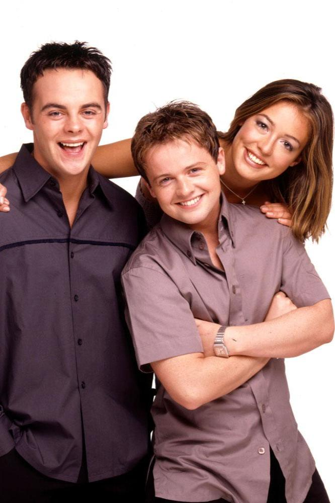 Ant, Dec and Cat