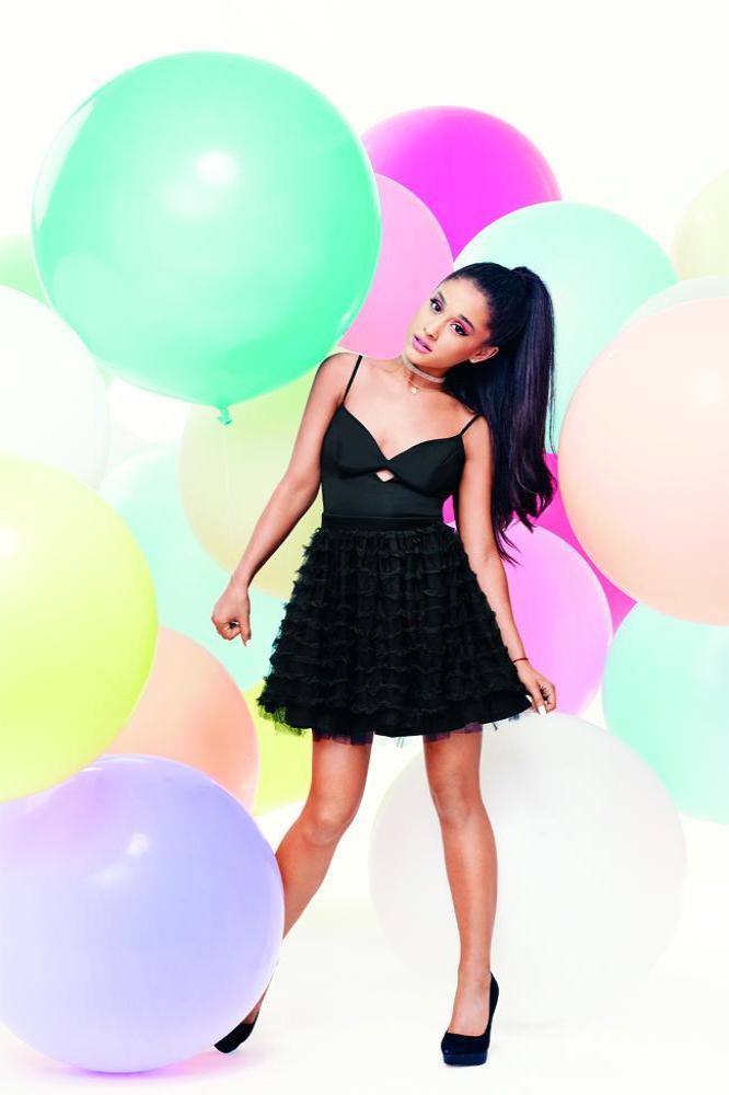 Ariana Grande Creates Own Prom Dress for Lipsy