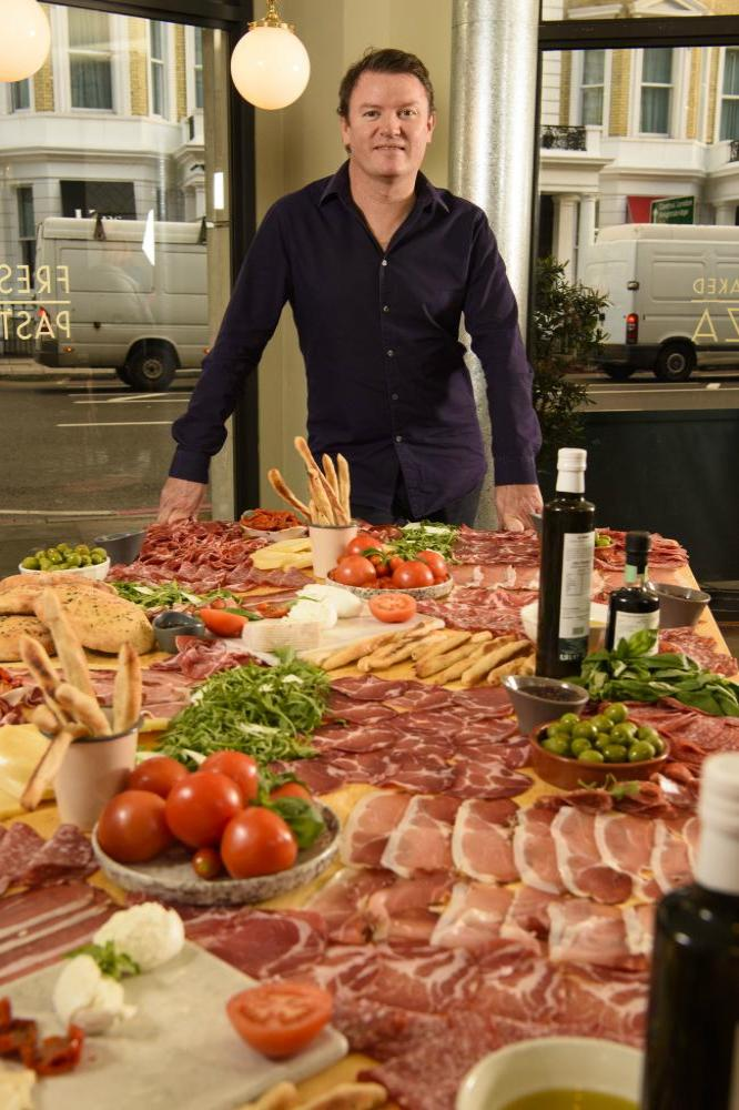 ASK Italian attempted the world record for biggest antipasti 'Giantipasti', to celebrate their autumn menu launch askitalian.co.uk