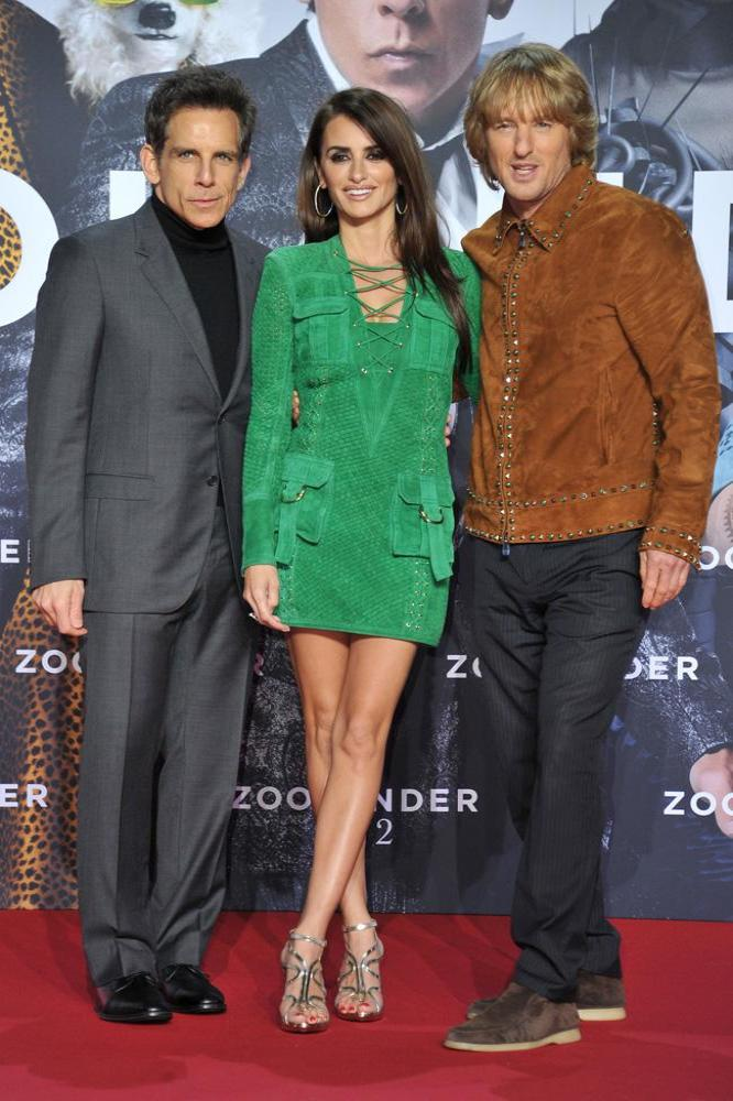 Ben Stiller, Penelope Cruz and Owen Wilson