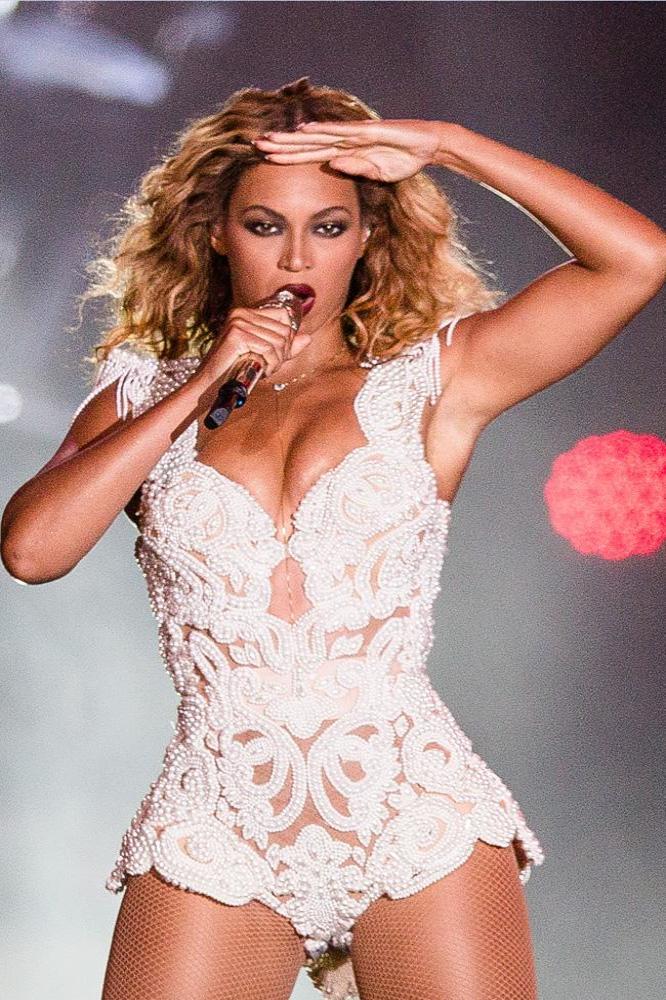 Beyonce has an incredible set of boobs