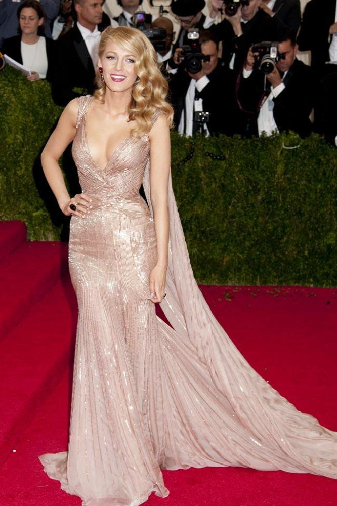 Blake Lively in Gucci Premiere