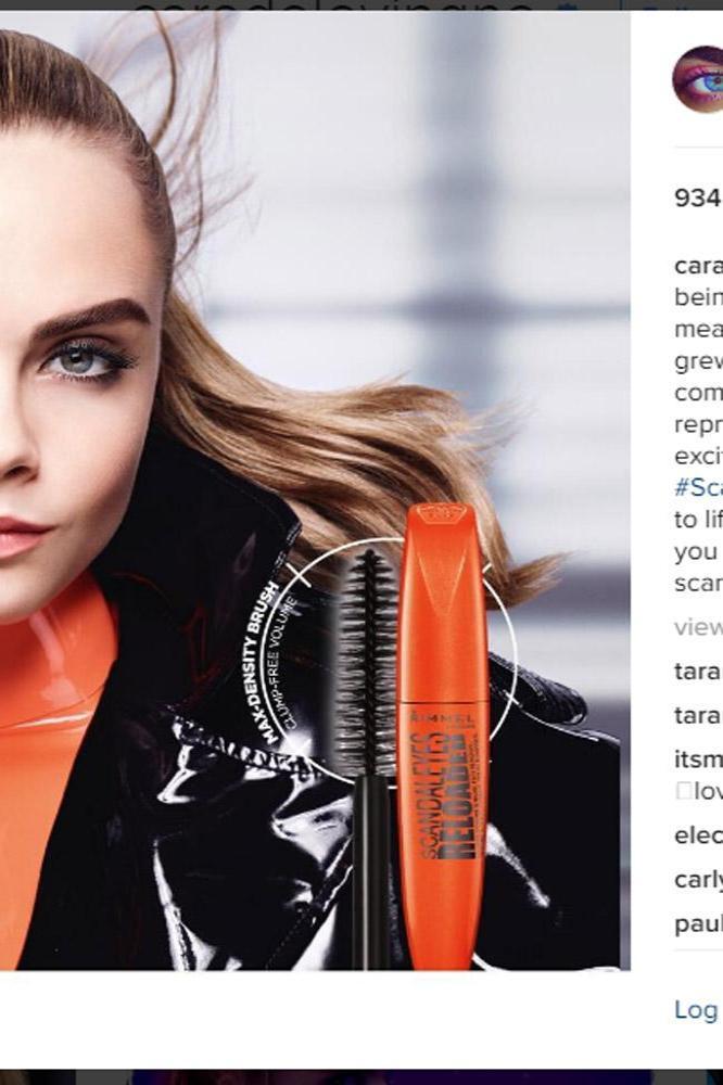 Cara Delevingne (c) Instagram