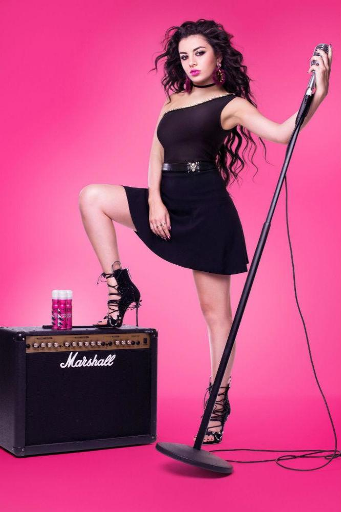 Charli Xcx Becomes A Rock Chick For Impulse