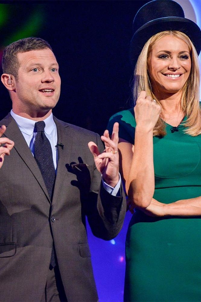 Children in Need's hosts Dermot O'Leary and Tess Daly