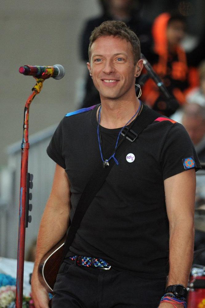 Chris Martin Surprises Son Moses On Stage In Peru