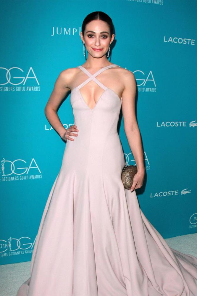 Costume Designers Guild Awards host Emmy Rossum