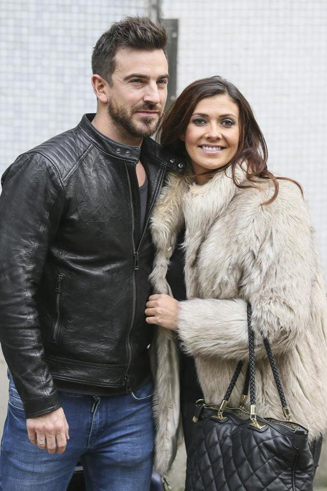 Dan Hooper and Kym Marsh