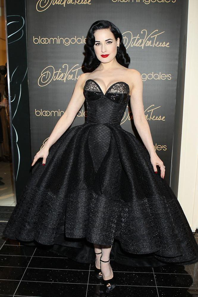 Dita Von Teese Prefers To Dye Her Hair At Home