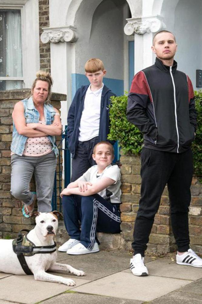 EastEnders newcomers The Taylors