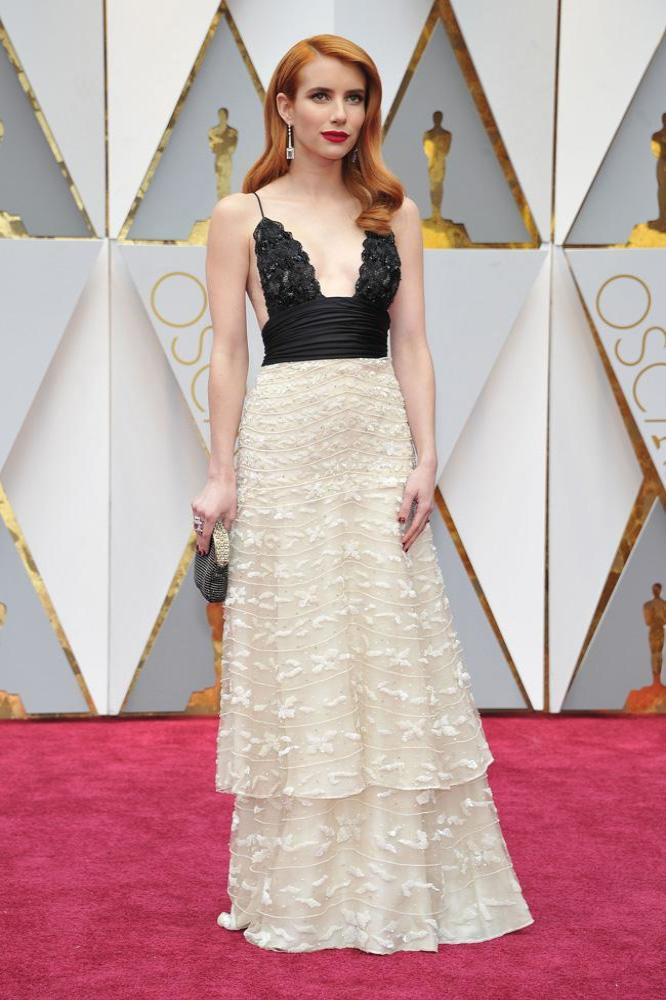 Emma Roberts at the 89th Academy Awards